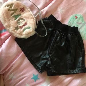 Other - Black girl shorts fit, would fit 2t or 3t